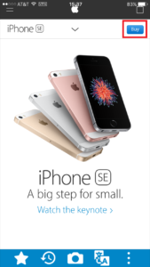 Buy iPhone SE at US apple store 03