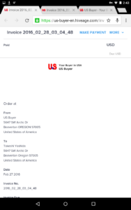 Invoice English Nexus