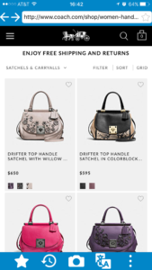 How to see Coach USA Official site from Hong Kong